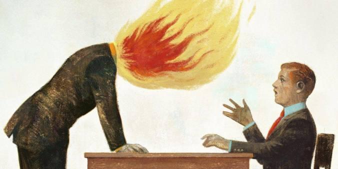 head burning